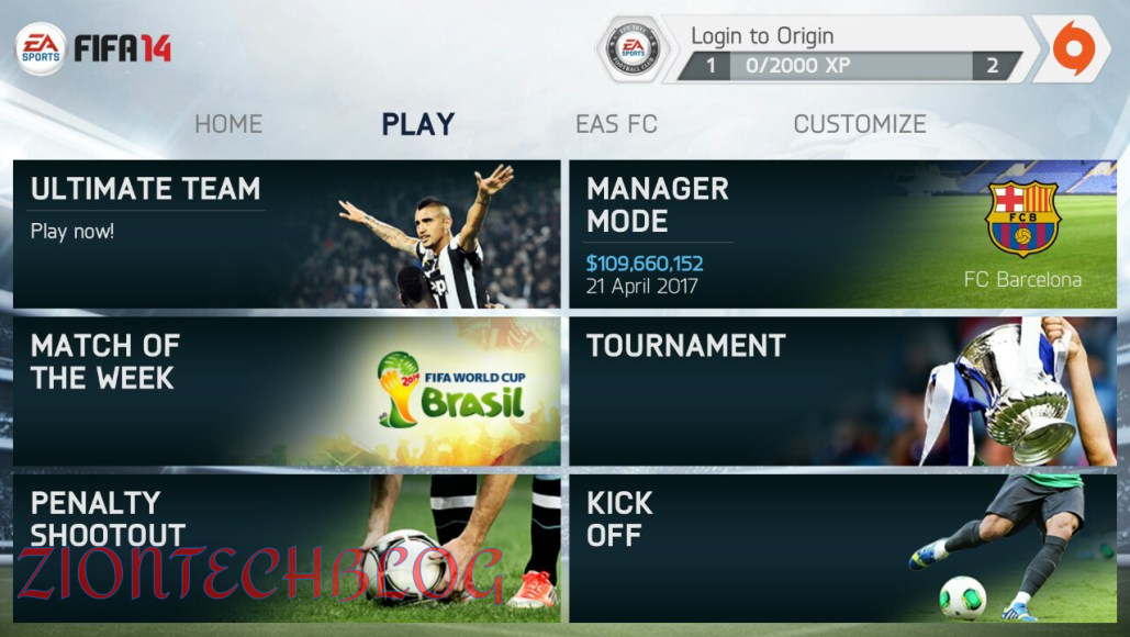 fifa 14 download android