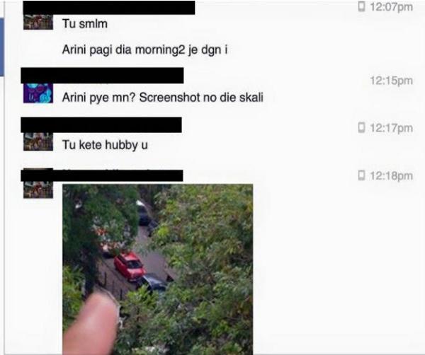 Wanita Terkejut Disapa Oleh Kekasih Suami Di FB Sehinggakan Dia....PEREMPUAN BIADAP!