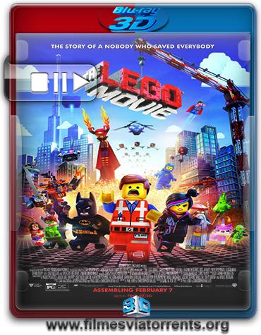 Uma Aventura Lego Torrent - BluRay Rip 1080p 3D HSBS Legendado (2014)