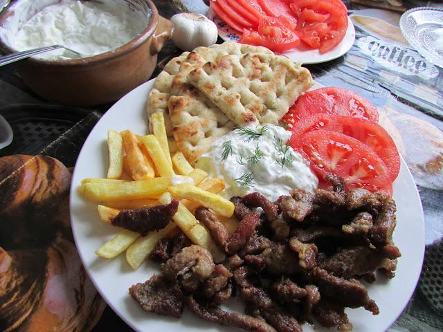 gyros piato