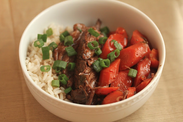 slow cooker Asian pot roast crock pot