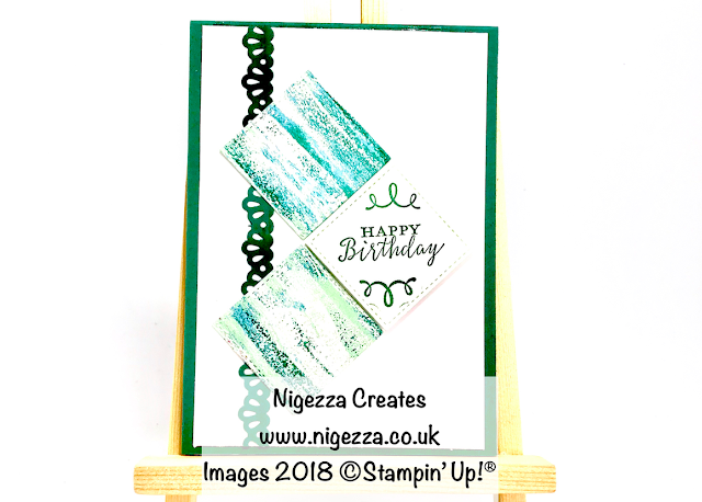 #stampinforall card sketch challenge Using Stampin' Up!® Tranquil Textures