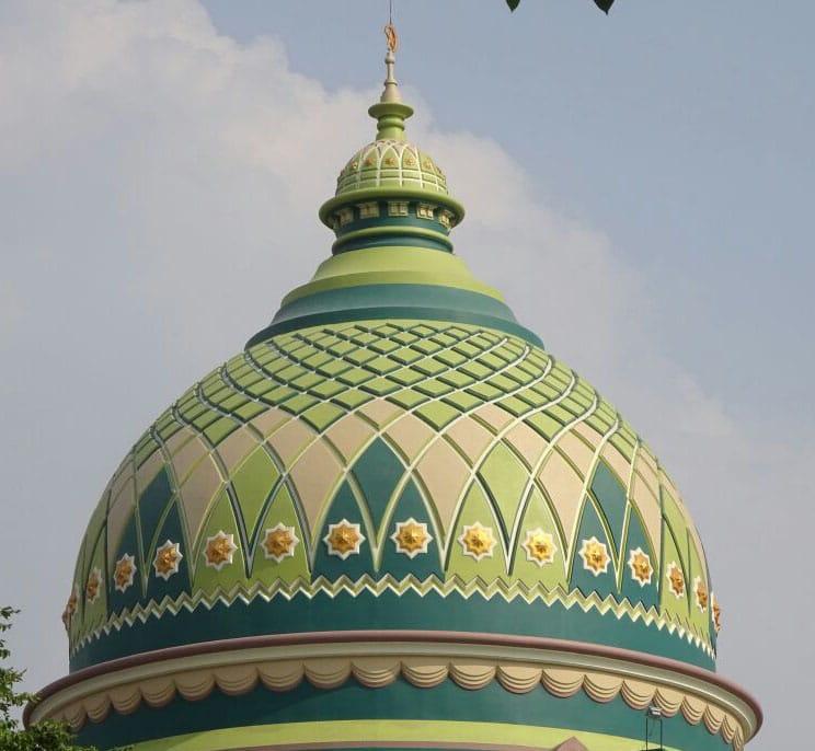 plapon kubah masjid/cahyo utomo kubah