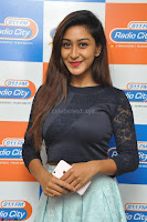Shravya in skirt and tight top at Vana Villu Movie First Song launch at radio city 91.1 FM ~  Exclusive 09.JPG