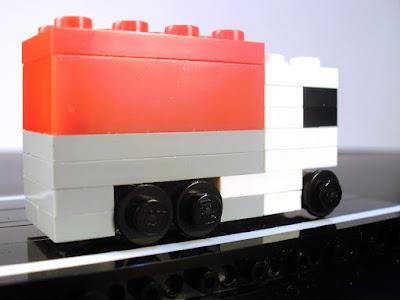 MOC LEGO Camião em micro escala