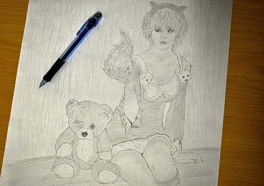 League of Legends: Annie drawing | Gabriel LVL