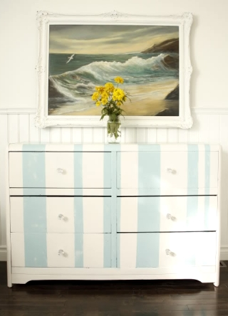 dresser makeovers with paint