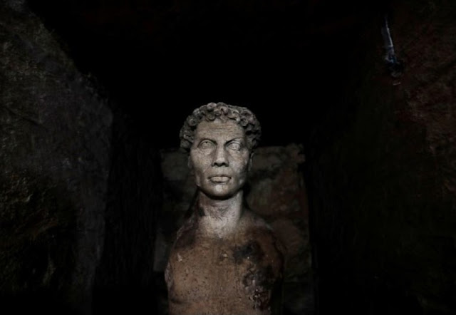 Egypt completes restoration of Kom el-Shuqafa catacombs