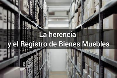 El Registro de Bienes Muebles y la herencia - Abogados de herencias en Zaragoza