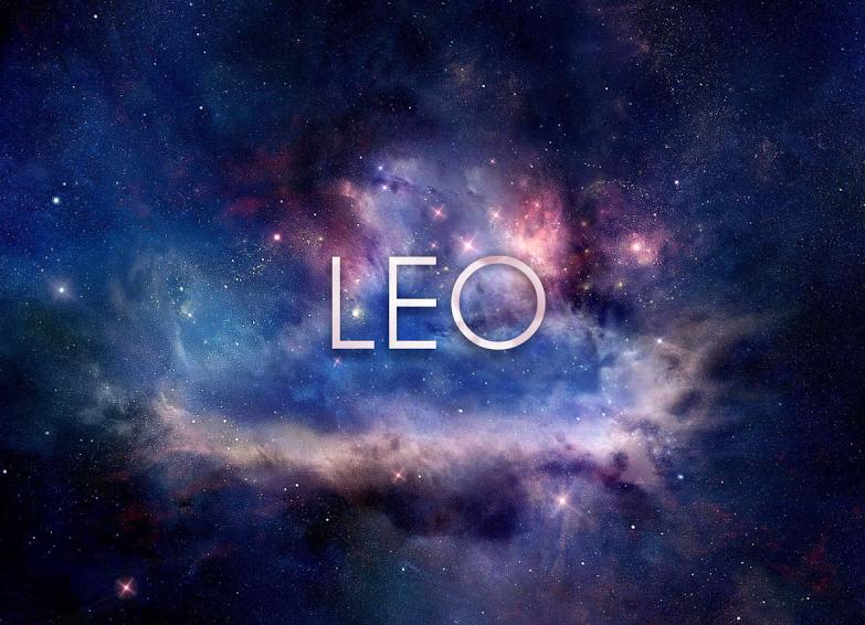 Wallpaper Signo Leo En El Espacio