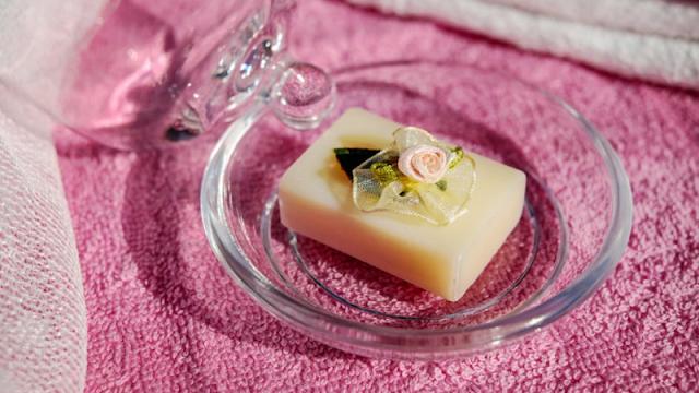 sabun transparan untuk suvenir