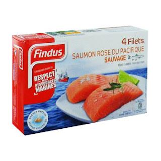 saumon sauvage Findus