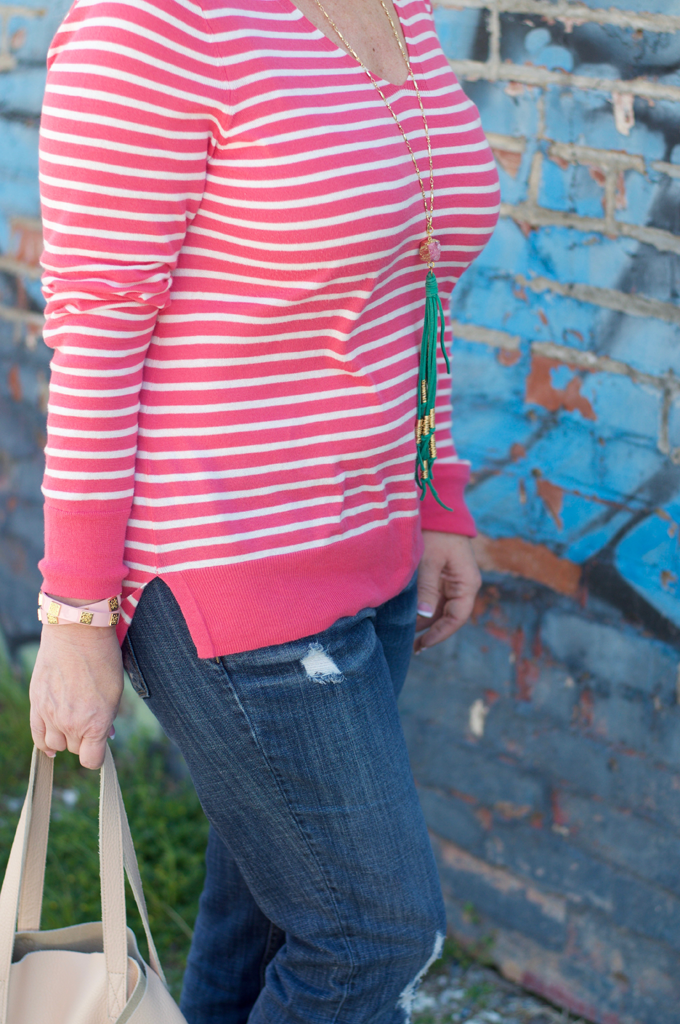 Stripe-Spring-Sweater