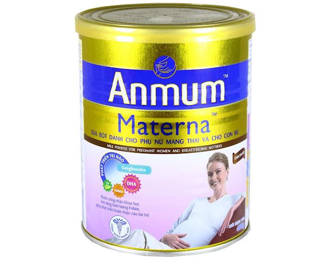 Cách sử dụng sữa bầu Anmum Materna an toàn nhất mẹ nên biết