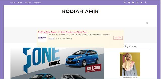 Review Blog : Rodiah Amir