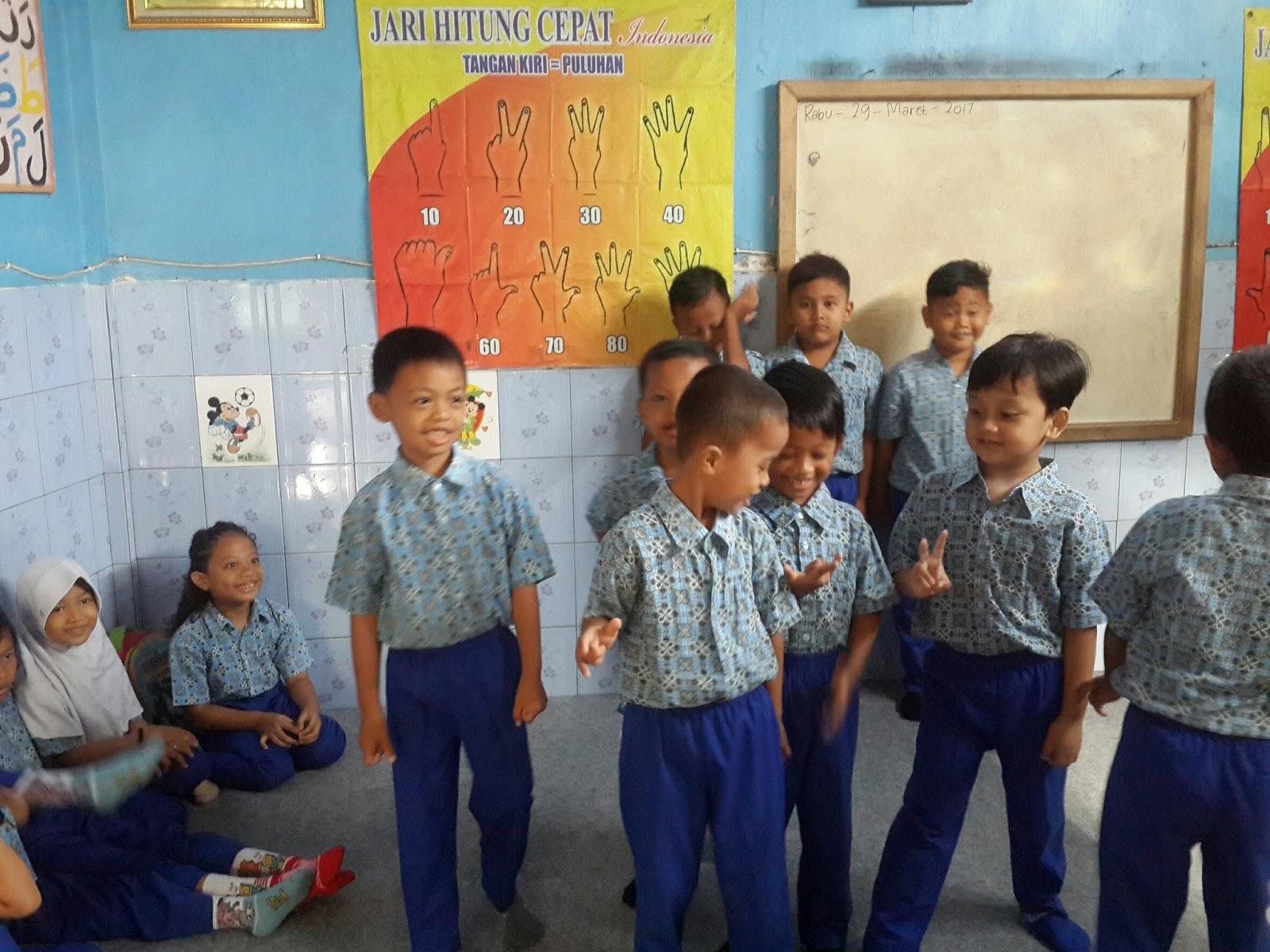Pada hari Rabu 29 Maret 2017 adalah hari kedua penulis mendampingi proses belajar mengajar di Paud Yayasan Lautan Amal Pukul 08 00 WIB penulis sampai di