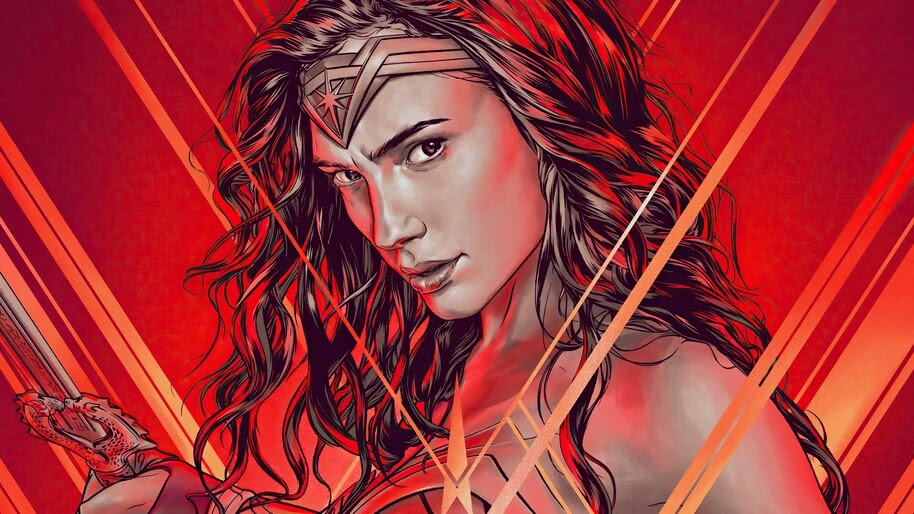 Wonder Woman, DC, Superhero, 4K, #6.1148