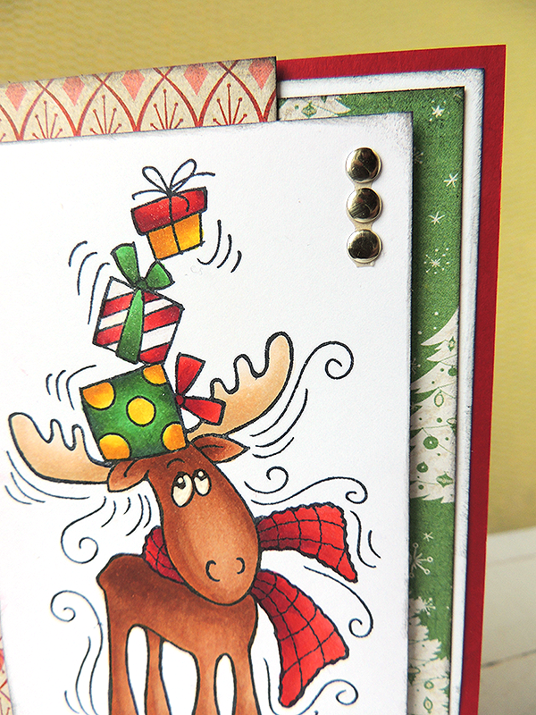 Stampendous Christmas Moose Gifts
