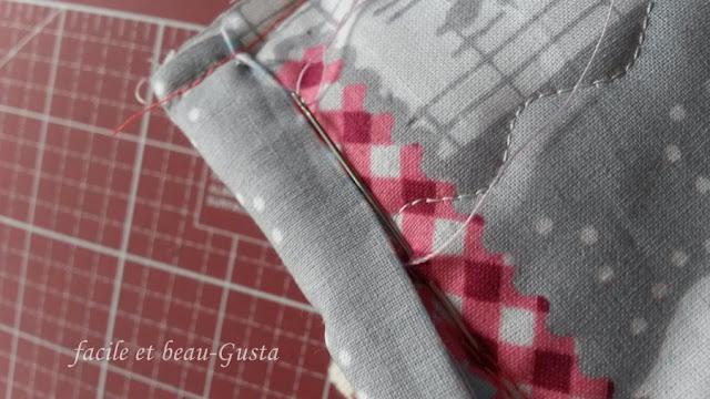 Binding annähen