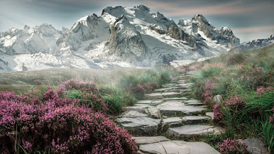 path in mountain
