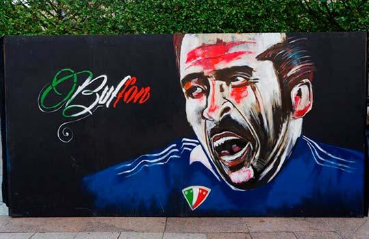 Gianluigi Buffon por KRISTX (Fotografía de Henri Garat)