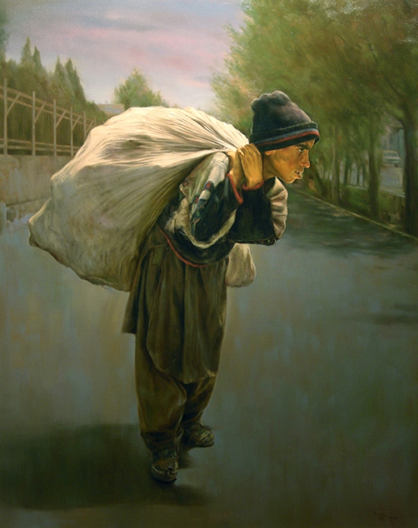 09-Life-s-Burden-Morteza-Katouzian-Oil-Paintings-Created-with-a-lot-of-Heart-www-designstack-co