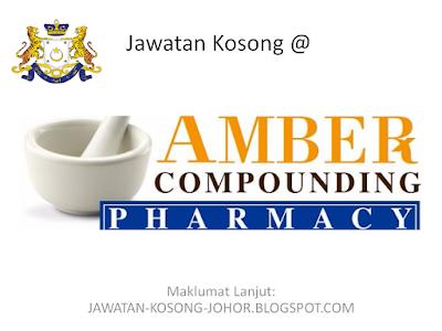 Jawatan Kosong Di Amber Pharmacy Sdn Bhd