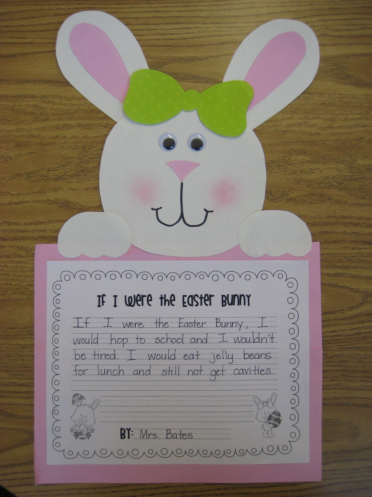 Easter Writing Activities For First Grade