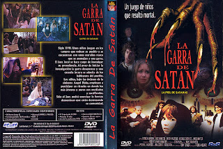 La garra de Satán » Carátula