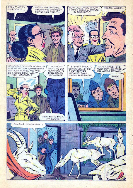 Hogan's Heroes v1 #3 - Steve Ditko dell tv 1960s silver age comic book page art