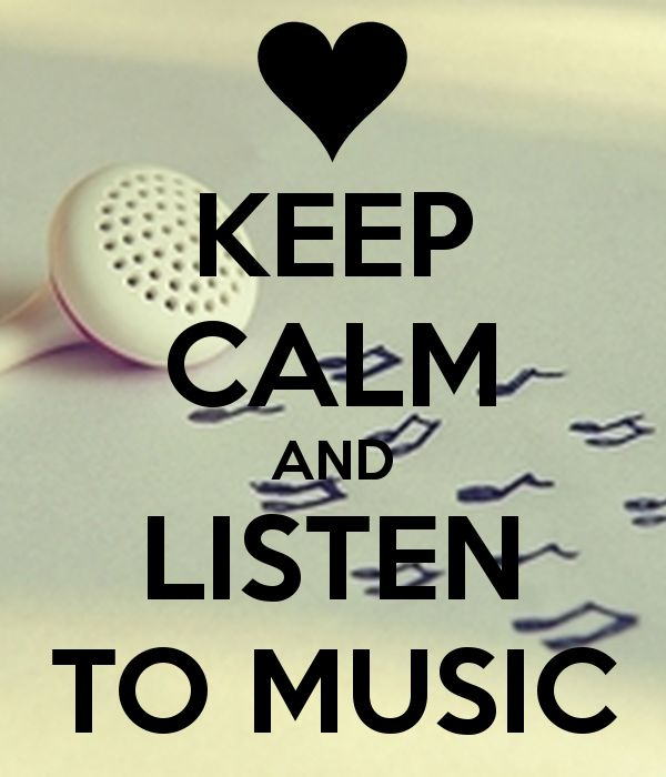 keep calm music