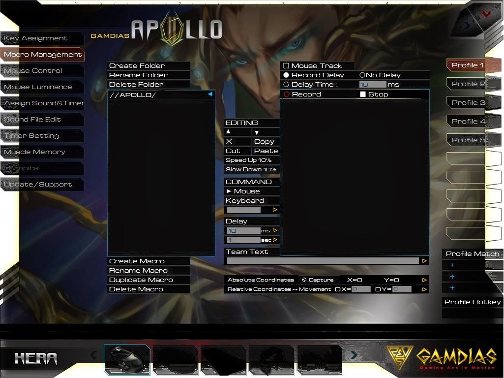 Gamdias Apollo Extension Optical Gaming Mouse 69