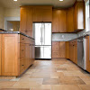 Maximizing The Color Combination on The Kitchen Flooring
