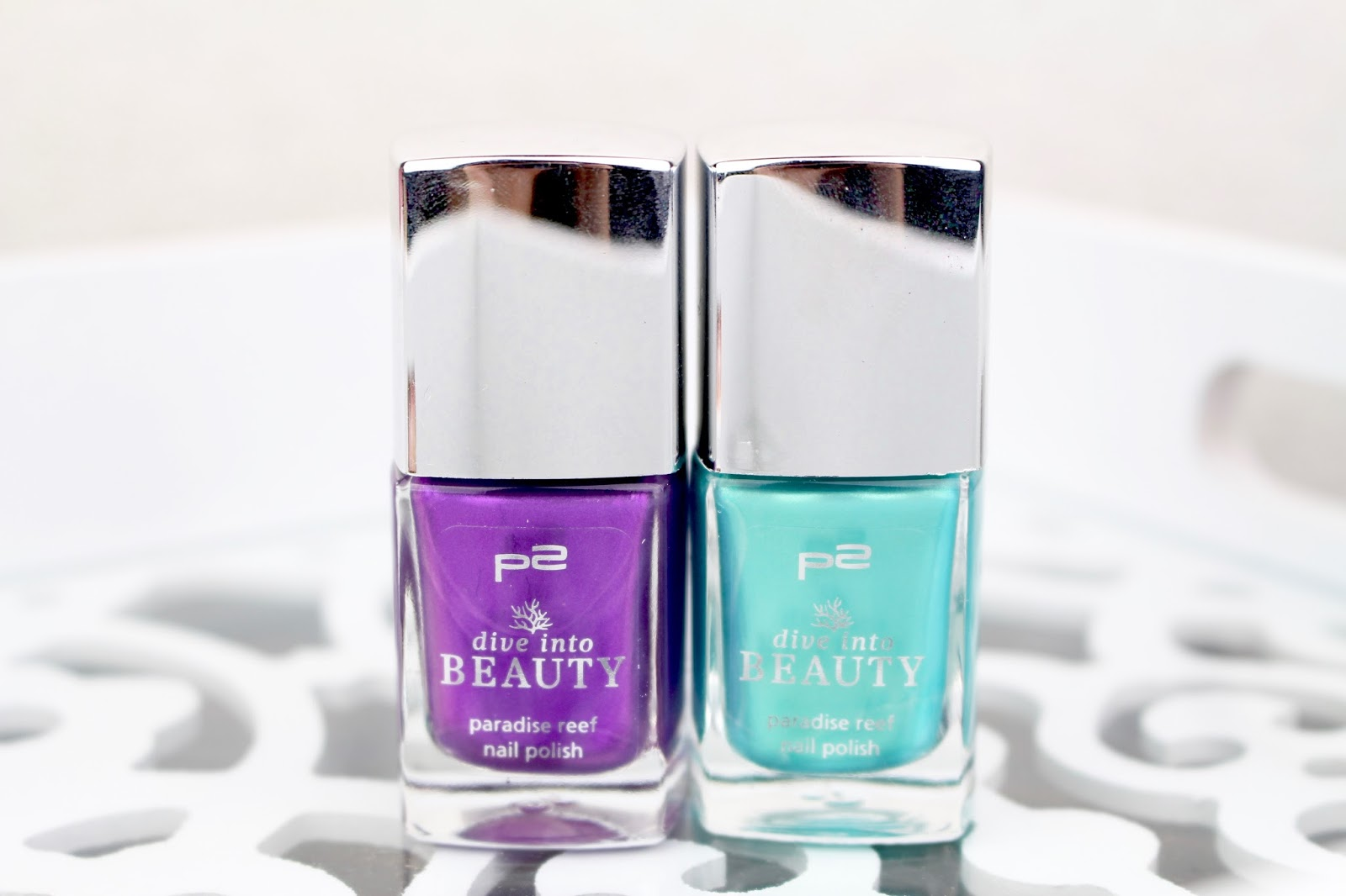 P2 Dive Into BEAUTY Limited Edition Paradise Reef Nail Polish 020 Lilac Jellyfish