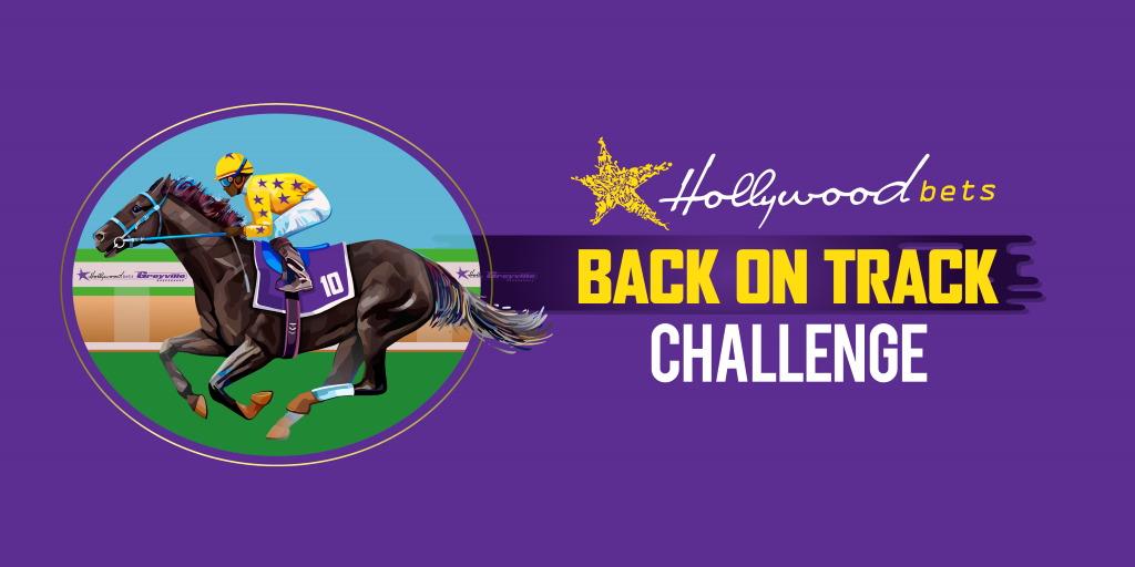 Hollywoodbets Back On Track Challenge Logo