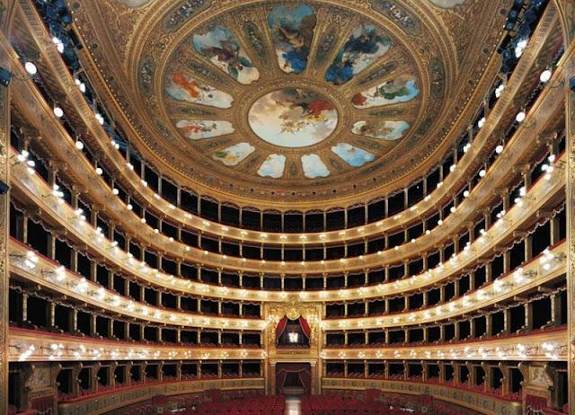 Teatro Massimo em Palermo na Itália