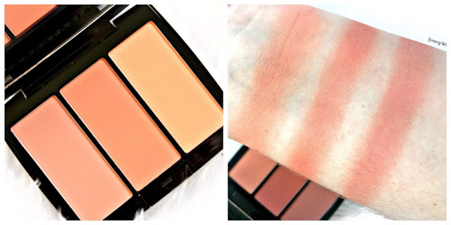 Anastasia Beverly Hills Blush Trio Peachy Love Swatches