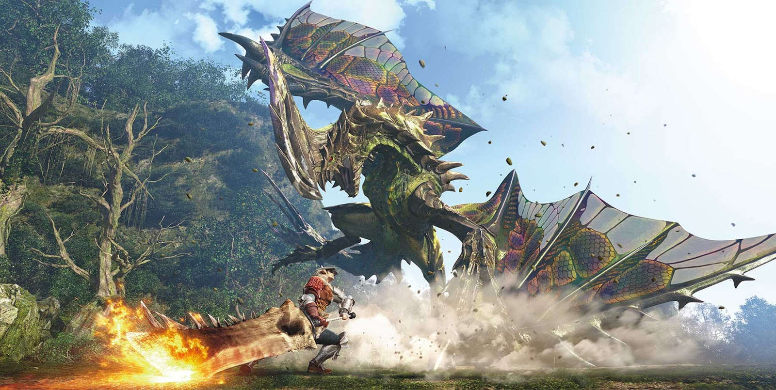 Constantin Film Says Monster Hunter Live-action Film Will Arrive Late 2017 To Early 2018!