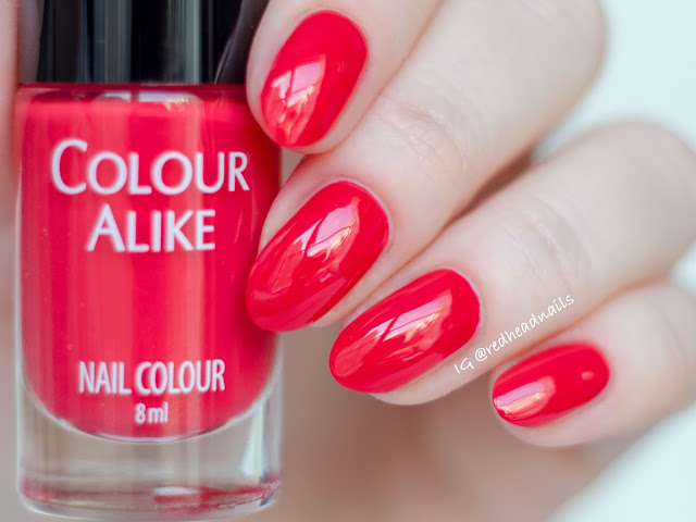 Colour Alike Cherry Tomato alike swatch