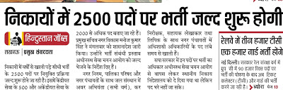 UP Nagar Nigam Recruitment 2018
