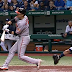Ryan Flaherty strikes out while being hit by pitch (Video)