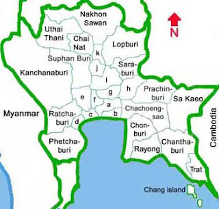thailand bangkok, central thai, dialek, aksen, thai, fakhri.id