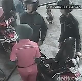 Polisi Panggil Sopir Mobil yang Lindas Anak Perempuan di SPBU