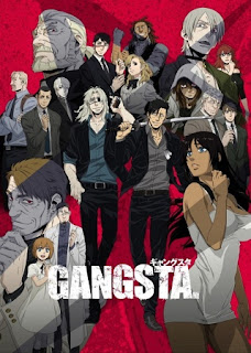 Poster Anime Gangsta. (Summer 2015) - First Impression Review by Glen Tripollo