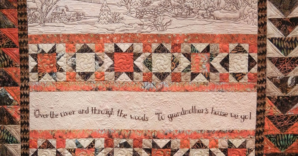 Quilt Inspiration: Over the River and Through the Woods