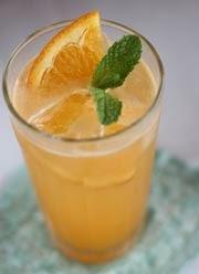 cara membuat minuman dingin orange punch spesial