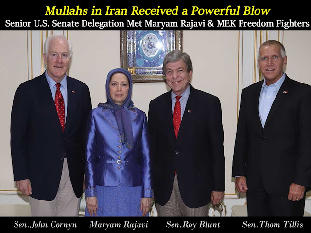 Iran-Senior U.S. Senate Delegation, Maryam Rajavi meet in Tirana, the Albanian Capital