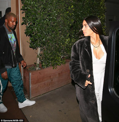 Kanye West and Kim Kardashian seen together for the first time since his hospitalisation