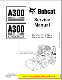 Bobcat service manual ~ Service & Spare Parts Catalog