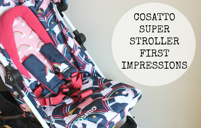 Cosatto Supa Stroller First Impressions